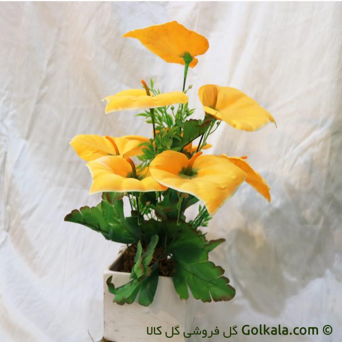 گل آنتریم-انتریم مصنوعی زرد