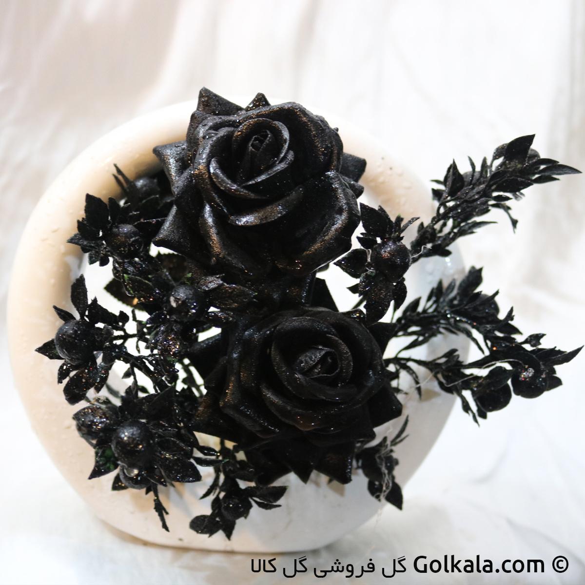 گل رز سیاه هالفتی, گل رز مشکی