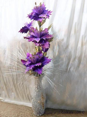 گلدان گل ختمی بنفش, گلهای زیبا ختمی
