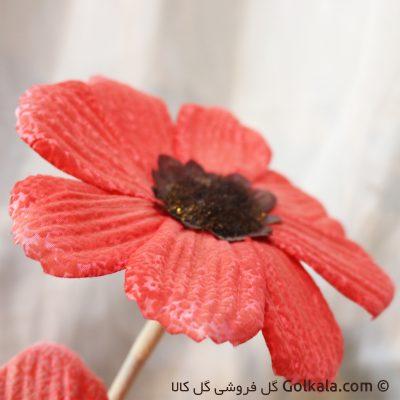 گل شقایق برفی قرمز - گل مصنوعی شقایق