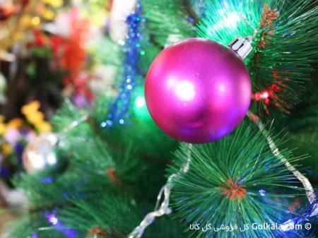 توپ براق, گوی آویز, تزیین درخت کریسمس
