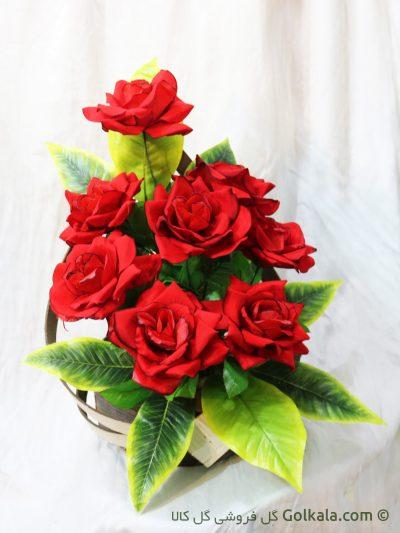 سبد گل رز سرخ, گلهای قشنگ مناسب هدیه