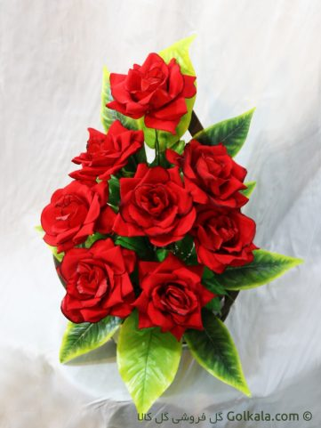 سبد گل رز قرمز, عکس گل های عاشقانه