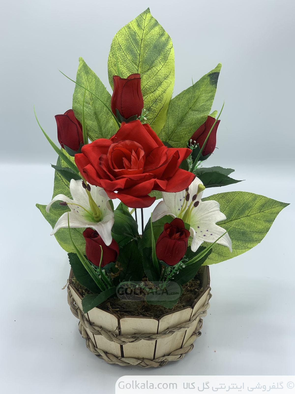 گل-ارکیده-سبد-گل-گلهای-زیبا-گل-سفید-صورتی