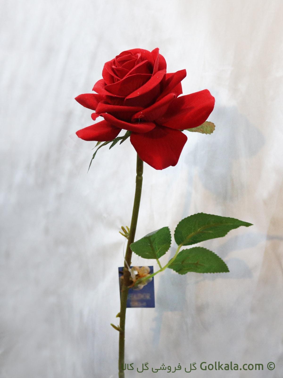 شاخه گل - گل رز مصنوعی