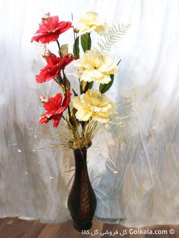 گلدان گل ختمی آسیایی