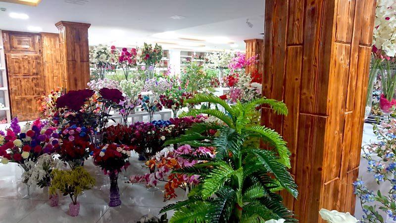 خرید گل خانه گل کالا عمده مصنوعی