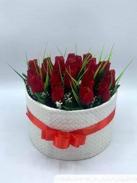 باکس گل رز 21 گل ـ گل کالا